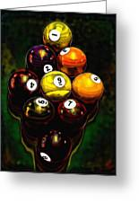 Billiards Art - Your Break 6 Greeting Card