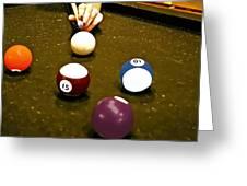 Billiards Art - Your Break -art 8 Greeting Card