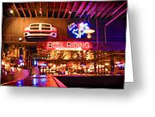 Billy Bobs - Forth Worth Greeting Card