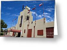 Billy Bobs County Music Hall Fort Worth Texas Greeting Card