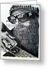 Billy Gibbons Greeting Card