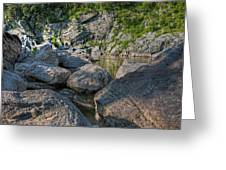 Billy Goat Boulders Greeting Card