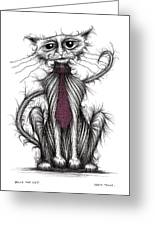 Billy The Cat Greeting Card