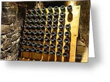 Biltmore Estate Wine Cellar -stored Wine Bottles Greeting Card
