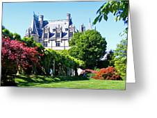 Biltmore House And Gardens Greeting Card
