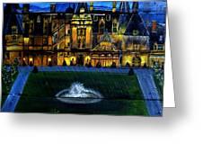 Biltmore House Greeting Card