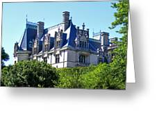 Biltmore House In Summer Greeting Card