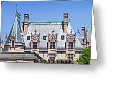 Biltmore House Roof Greeting Card