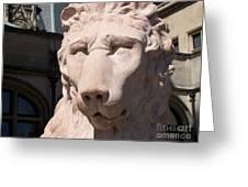 Biltmore Lion Greeting Card