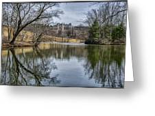 Biltmore Reflection Greeting Card