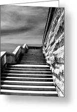 Biltmore Stairs Asheville Nc Greeting Card