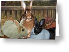 Bindy Bella And Butterscotch Greeting Card