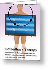 Biofeedback Therapy Greeting Card