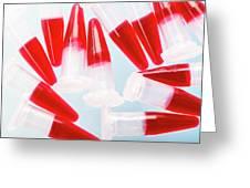 Biological Samples Greeting Card