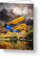 Biplane Series Greeting Card