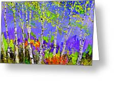 Birchtrees 56412 Greeting Card