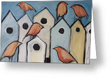 Bird Condo Association Greeting Card