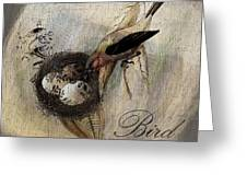 Bird Nest - Sp11ac02 Greeting Card