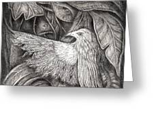 Bird Of Life Greeting Card by Praphavit Premtha