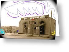 Birdcage Theater Number 1 Tombstone Arizona C.1934-2008 Greeting Card