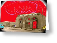 Birdcage Theater Number 2 Tombstone Arizona C.1934-2009 Greeting Card