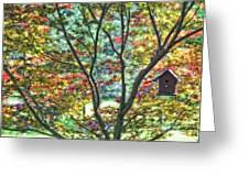 Birdhouse Greeting Card