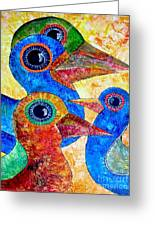 Birds 736 - Marucii Greeting Card