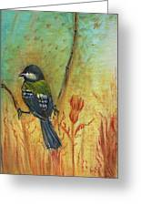 Birds Of A Feather Series3 In Autumn Greeting Card