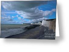 Birling Gap Beach Greeting Card