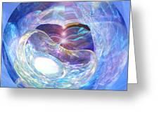 Birth Of Light Greeting Card