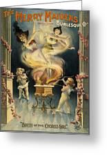 Birth Of The Chorus Girl Greeting Card