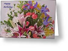 Birthday Bouquet Card Greeting Card