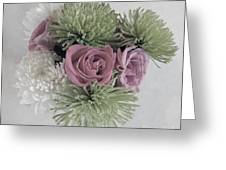 Birthday Flowers Two Greeting Card