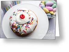 Birthday Party Donut Greeting Card
