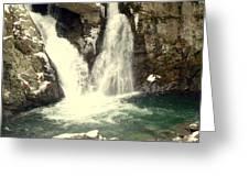 Bish Bash Falls  Greeting Card