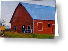 Bishop Barn Greeting Card