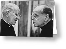 Bishops Talk Greeting Card