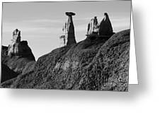 Bisti Land Form 1 Greeting Card