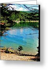 Bitterroot Lake Greeting Card