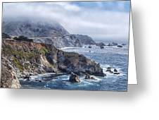 Bixby Bridge - Large Print Greeting Card by Anthony Citro
