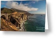 Bixby Coastal Drive Greeting Card by Mike Reid