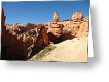 Bizarre Shapes - Bryce Canyon Greeting Card