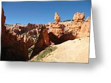 Bizarre Shapes - Bryce Canyon Greeting Card