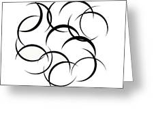 Black And White Art - 133 Greeting Card