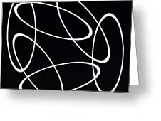 Black And White Art - 147 Greeting Card