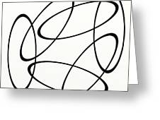 Black And White Art - 148 Greeting Card