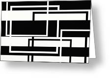 Black And White Art - 151 Greeting Card