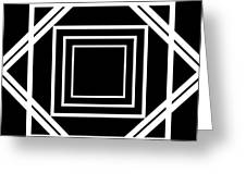 Black And White Art 174 Greeting Card