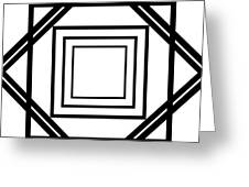 Black And White Art 175 Greeting Card