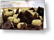 Black And White Chocolate Greeting Card